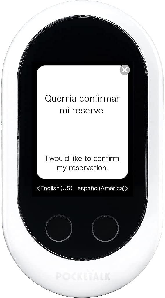 Pocketalk Classic Language Translator Device